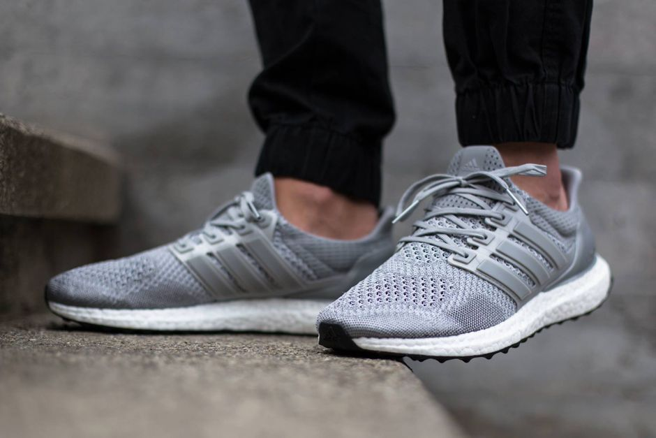 online store 5b4b2 2aace An On-Foot Look at the adidas Ultra Boost in Silver - SneakerNews.com