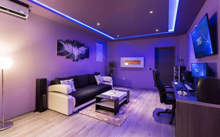 I 39 ve transformed unused garage into a music studio - Habitacion gaming ...