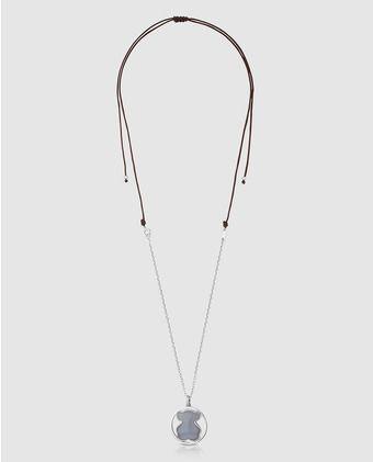 5e9741fc5f53 Collar Tous Camille de plata y calcedonia | tous | Plata, Collares ...