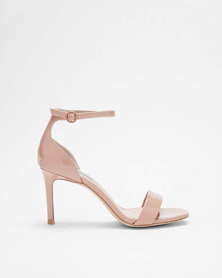 933d3c6dcbc Express Steve Madden Patent Fame Heeled Sandals