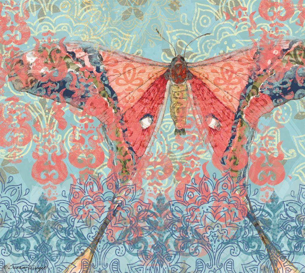 Lang February 2015 Wallpapers Bohemian Garden ART
