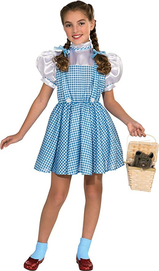Wizard of Oz Child's Dorothy Costume #halloween #kids #halloweendress #halloweenkids #amazon #halloweenwomen #hallowendecor #halloweenlights #halloweendecorations #scentsylaborday