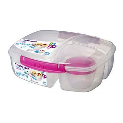 Sistema Triple Split To Go Lunch Container sistema Pinterest