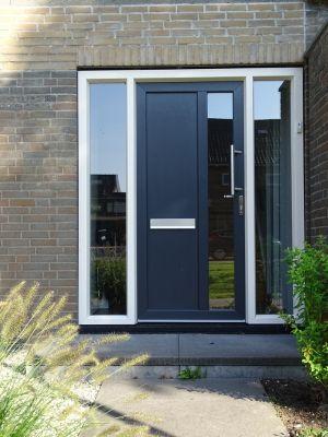 Plastic front door from assortment Plow front doors