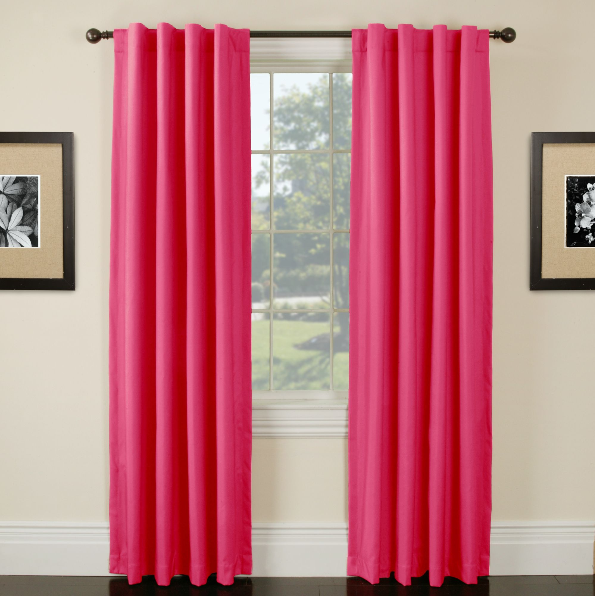 Hot Pink Curtains For 29 Tons Of Other Colors Too Cool