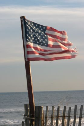 My two favorite things....Our USA and Our BEACHES!!  :)