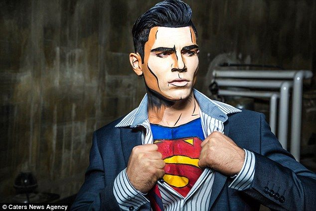 Marvel-ous makeup artist turns real-life people into comic book ...