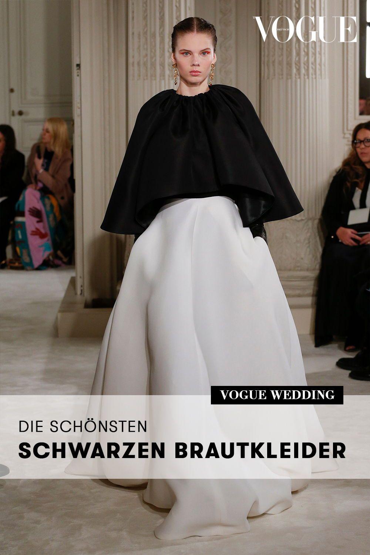 Wurden Sie Ein Schwarzes Brautkleid Tragen Diese Braute Trauten Sich Schwarzes Brautkleid Brautkleid Kleider