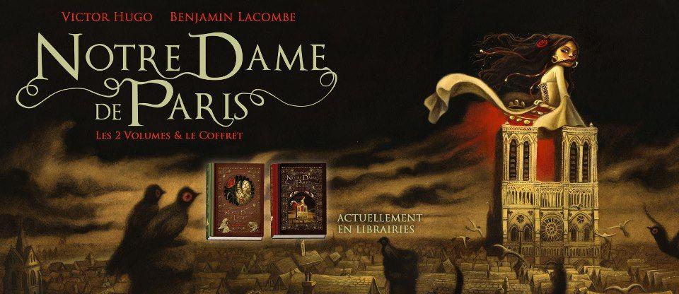 Benjamin Lacombe - Notre-Dame de Paris