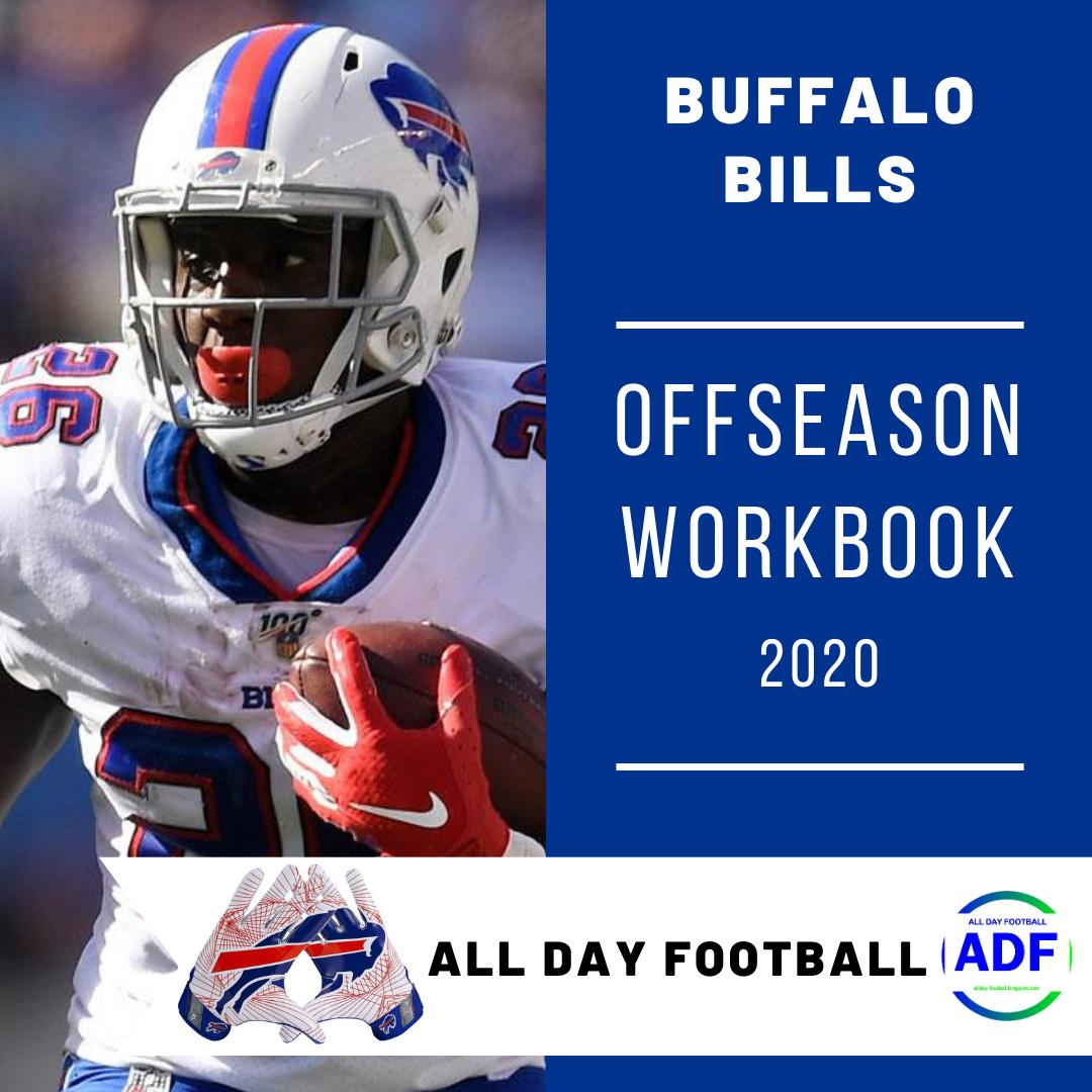 Buffalo Bills Offseason WorkBook 2020 in 2020 Buffalo