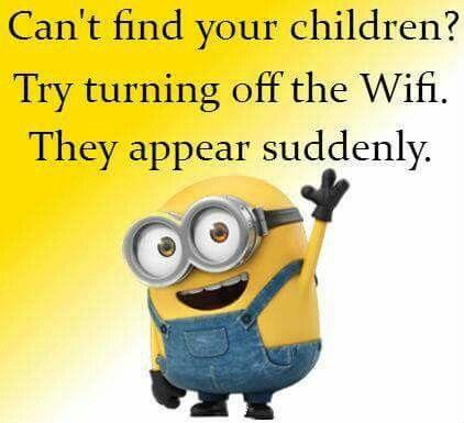 Turn off the wifi!