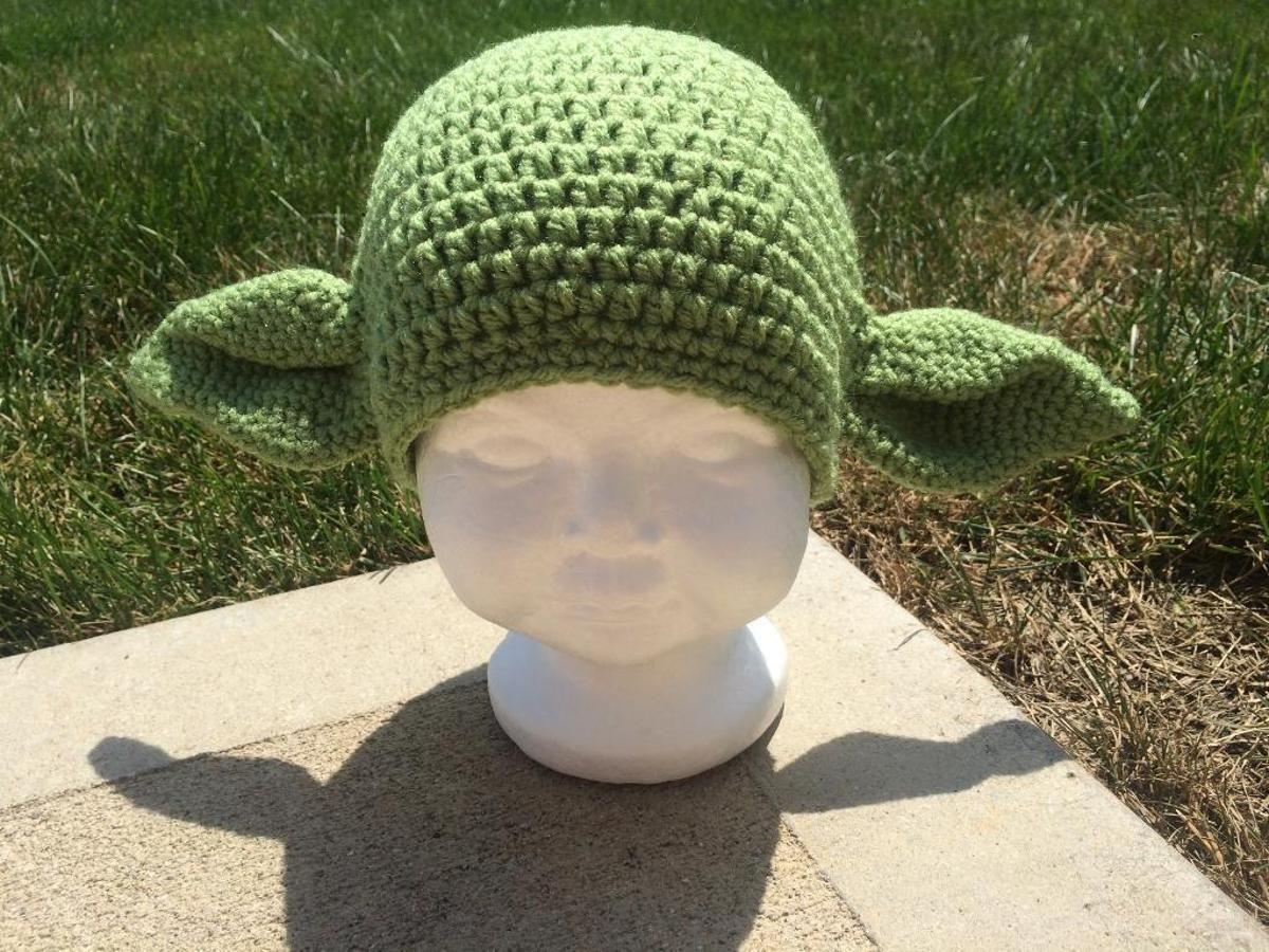Outstanding Crochet Yoda Hat Pattern Model - Sewing Pattern for ...