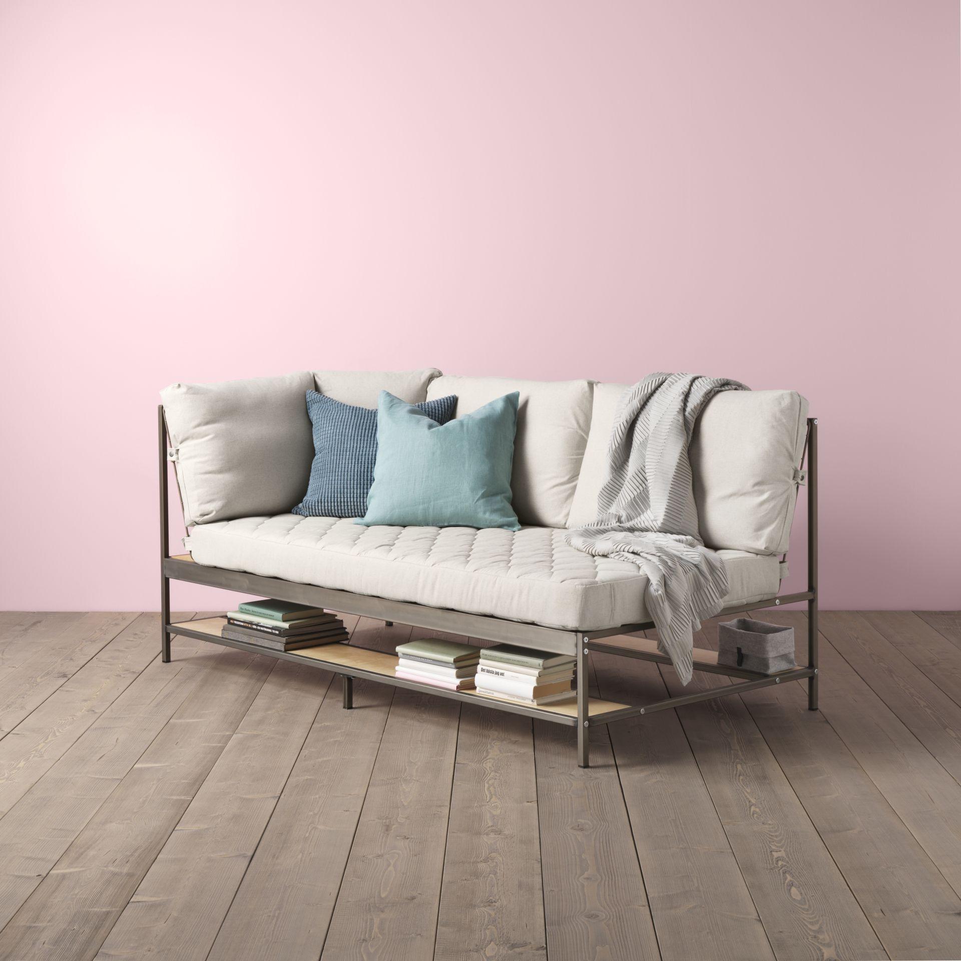 Bekend EKEBOL 3-zitsbank, Katorp naturel | int - Ikea couch, Ikea sofa en @IM49