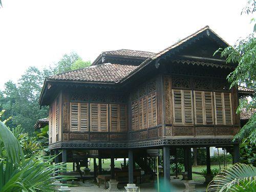 Traditional Malay House Kuala Lumpur Malaysia Rumah