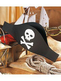 Piratenhut Basteln Bastelvorlagen Fur Den Kostumklassiker Familie De Piratenhut Basteln Kindergeburtstag Piraten Piraten Kinder