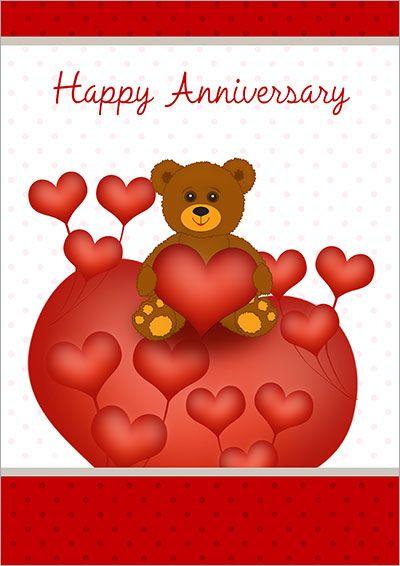Free Printable Anniversary Cards Bayarmaa Pinterest Printable