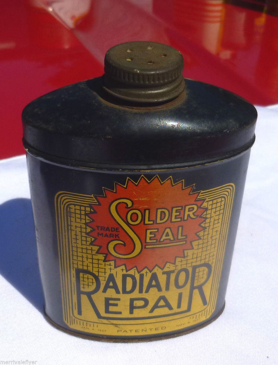 how to fix a radiator leak in a car
