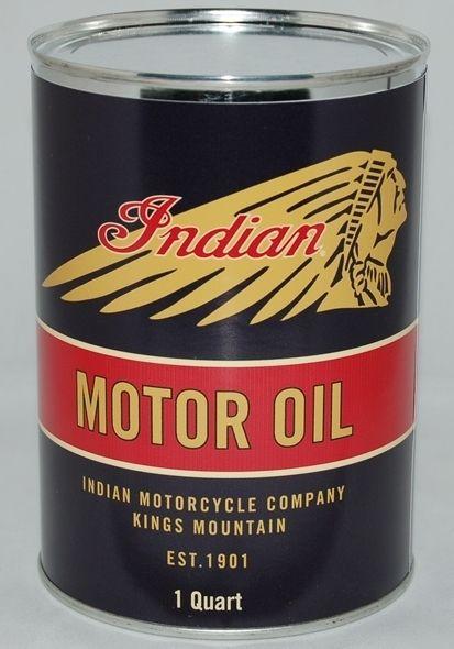 Indian Motorcycle Black Metal Oil Can 32 Fl Oz Ebay Indian