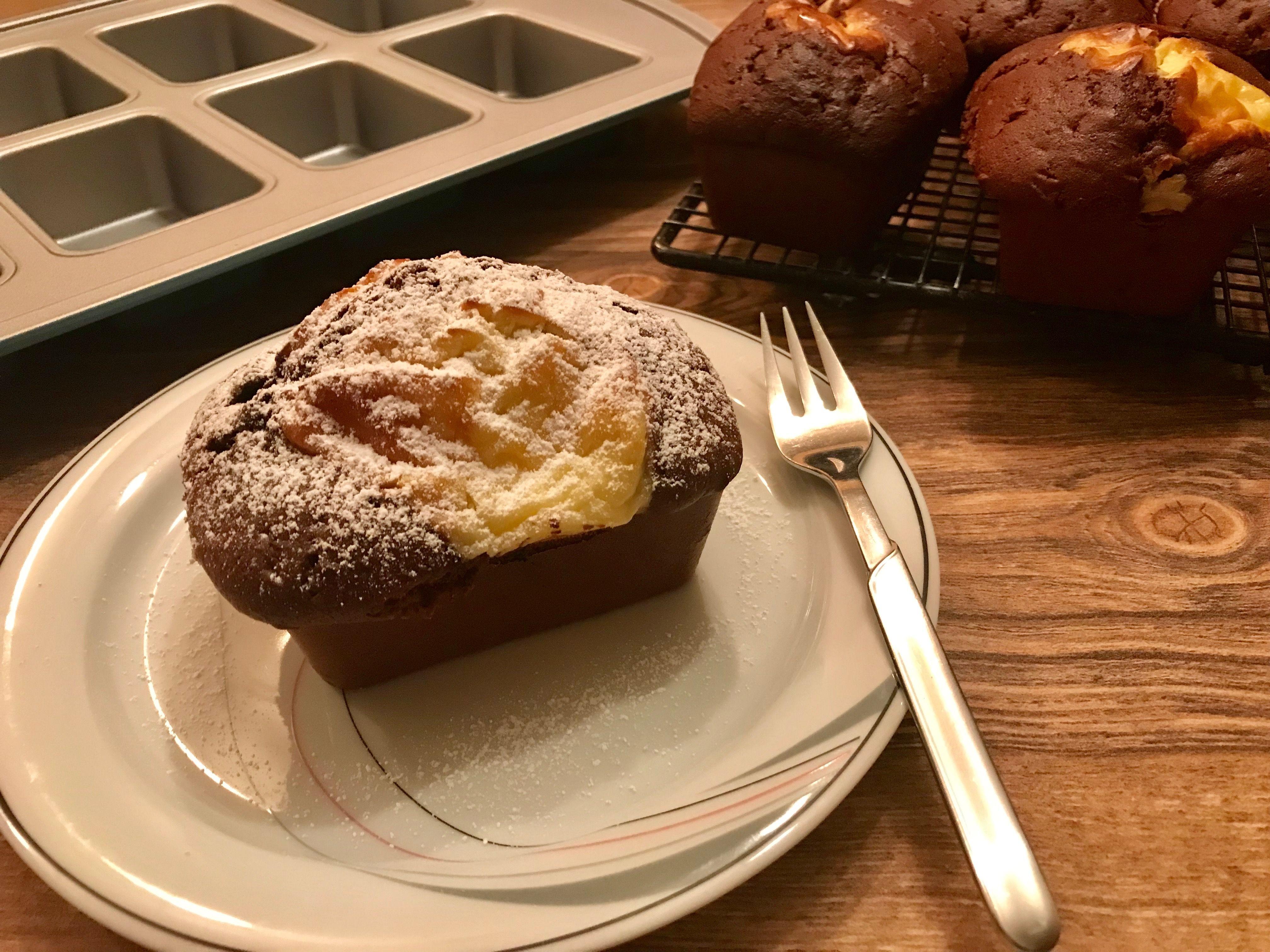 Schoko Kase Kuchlein Aus Der Mini Kuchen Form Von Pampered Chef Mini Kuchen Kuchen Kuchen Ohne Backen