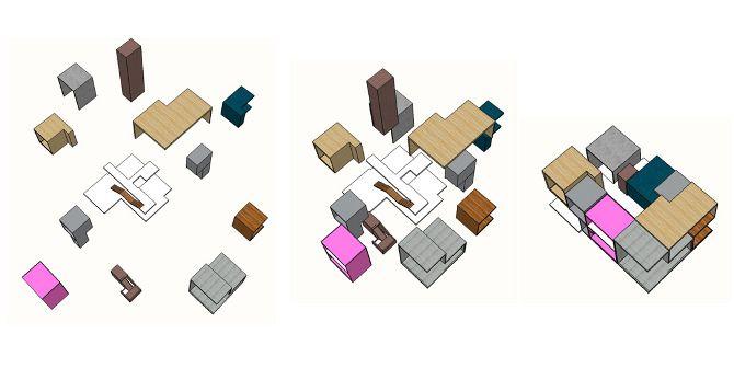 Interlocking Architecture Diagrams