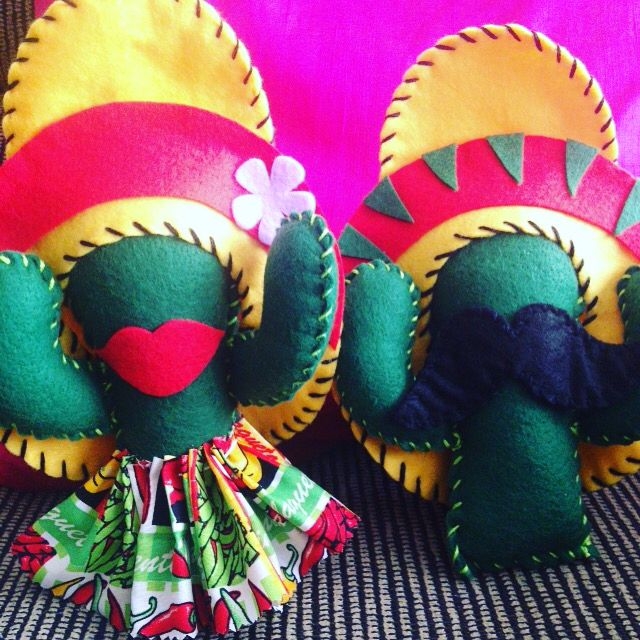 Adesivo Tema Festa Junina ~ Cactos ou cactus em feltro #cactus #feltro #artesanato #mexico Feltroo Pinterest Cactos e Arte