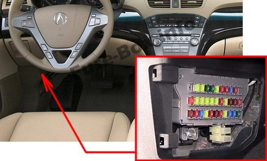 17 best acura mdx (yd2; 2007-2013) fuses images | acura mdx, fuse ...  pinterest