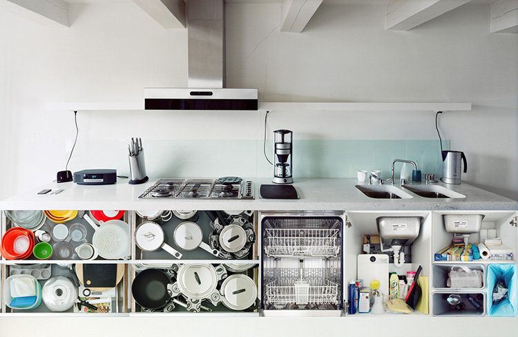Pics Of Open Kitchen Cupboards Air Everyday Intimacies | Kitchen ...
