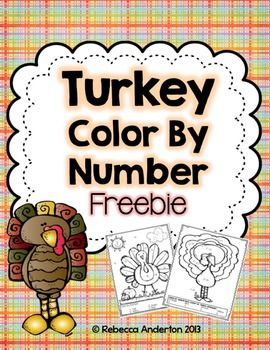 Heres A Set Of Turkey Color By Number Pages For Practicing Addition And Subtraction