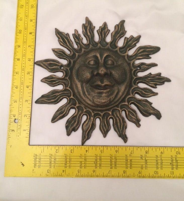 Cast Iron Sun Faces Wrought The Face Solar