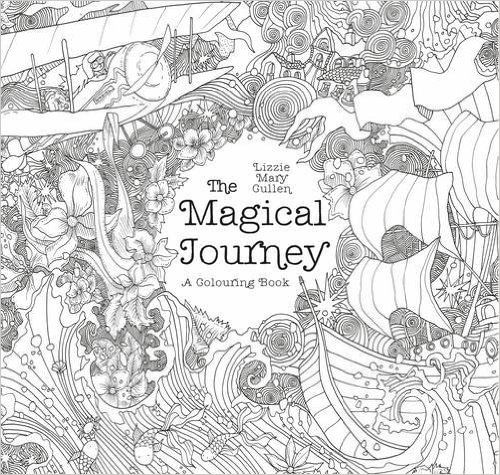 The Magical Journey A Colouring Book Books For Adults By