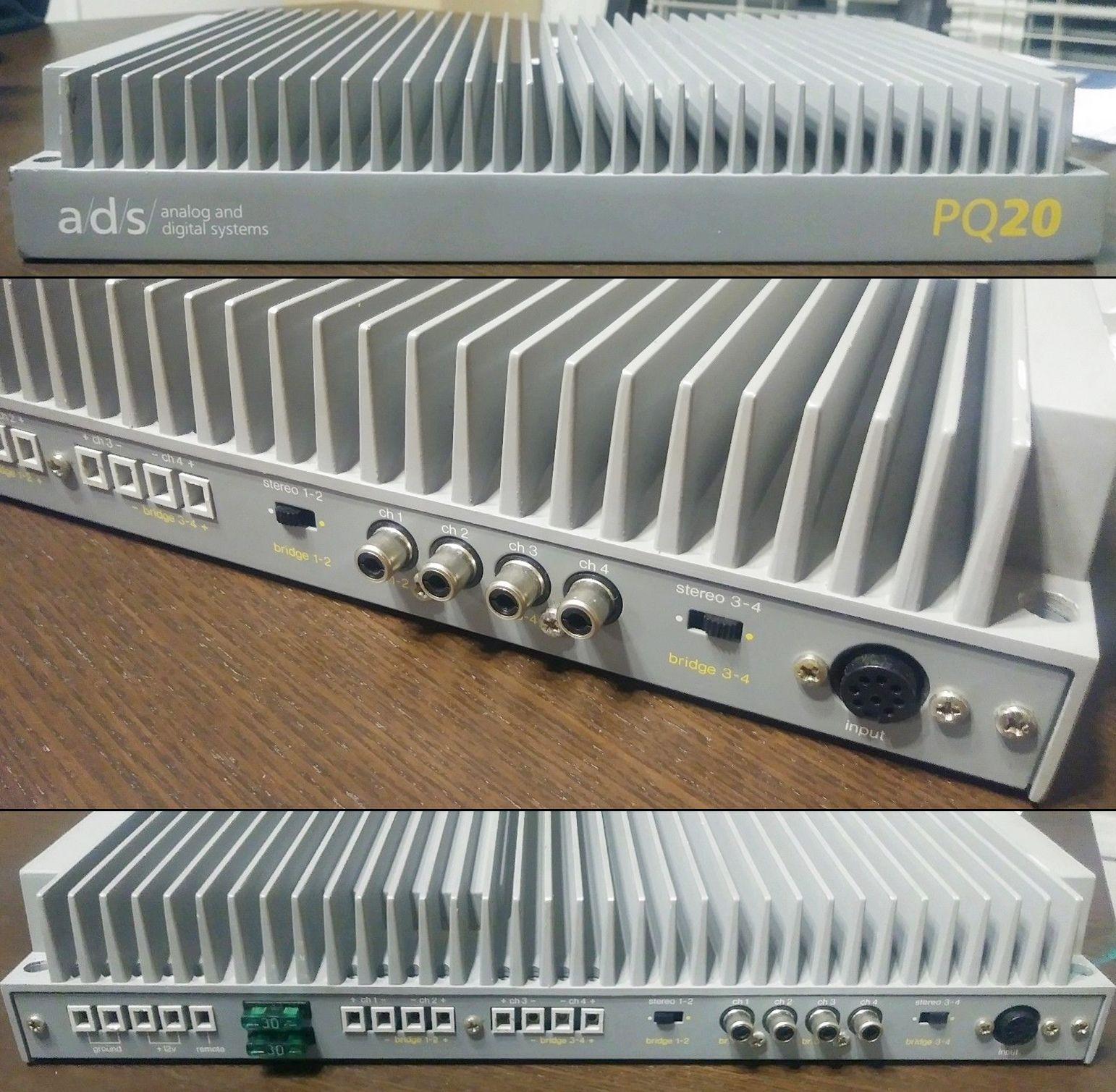 A/D/S PQ20 4 Channel 84watt Amplifier. Made in Japan