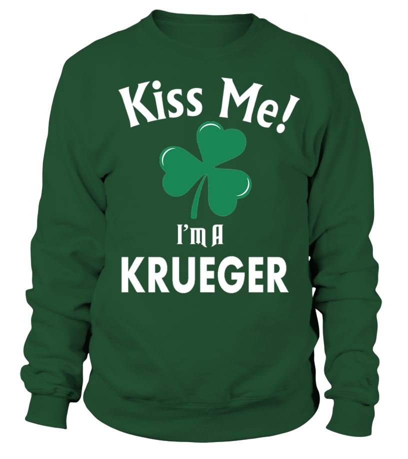 Kiss me, I'm A KRUEGER  Funny just married T-shirt, Best just married T-shirt