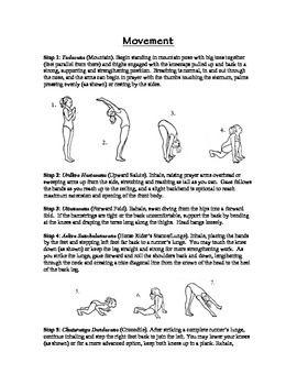 "yoga guide for teachers  ""sun salutations"" howto"
