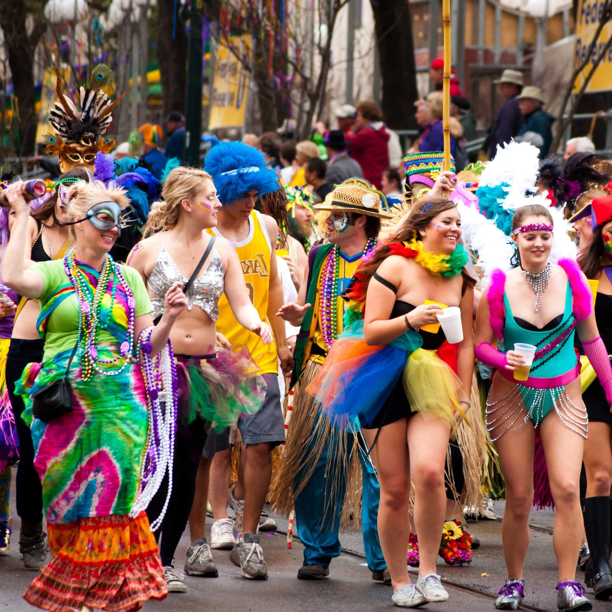 The New Orleans Mardi Gras Season Bucket List | New orleans mardi ...
