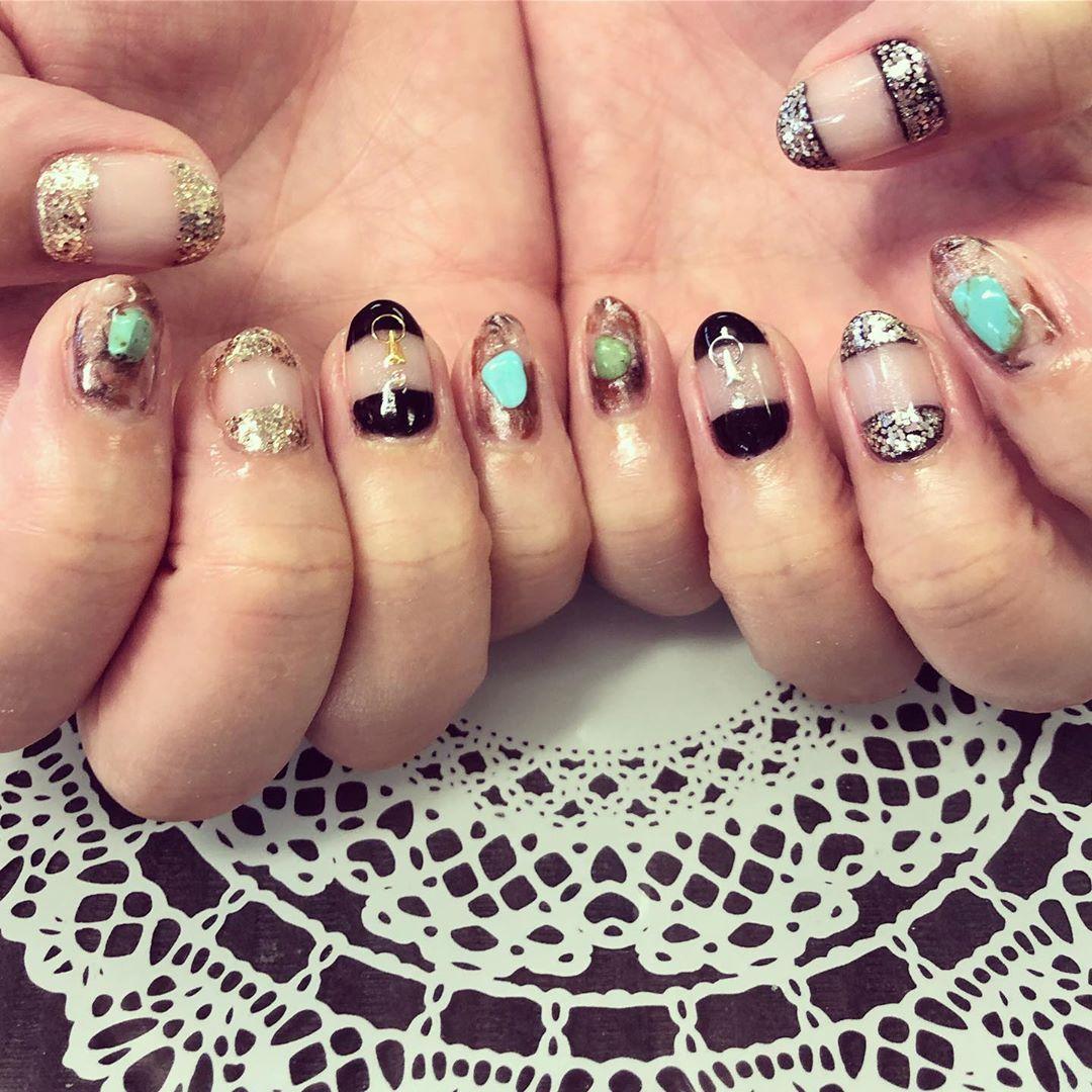 #シンプルネイル #nail #nailart #gelnail #PREGEL #pregel