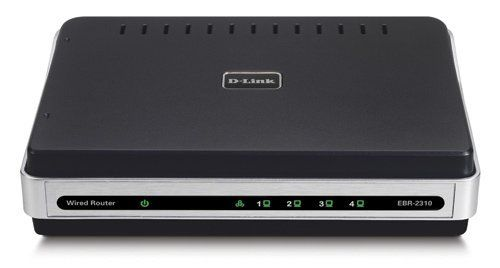 D-Link EBR-2310/RE 4-Port 10/100 Switch Wired Ethernet Router by D ...