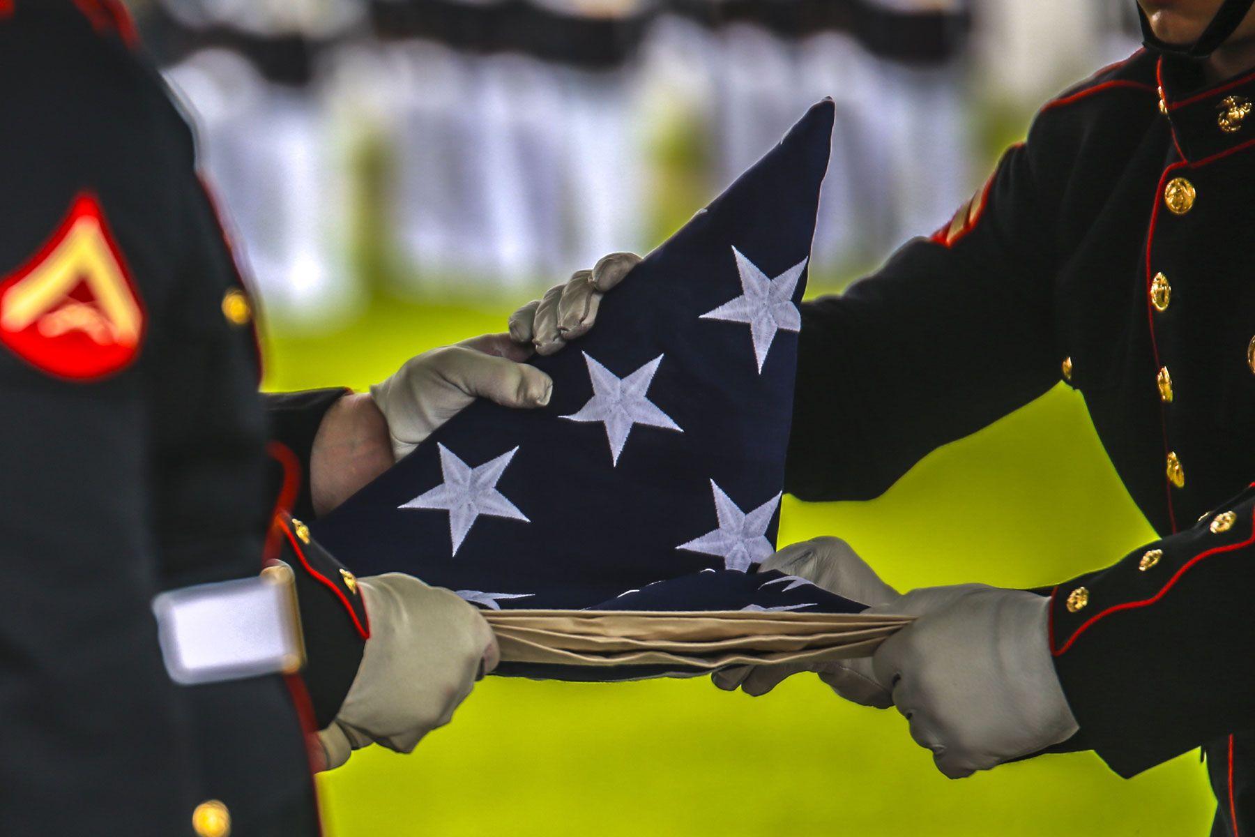 When Debra Tainsh's veteran husband died of illness traced