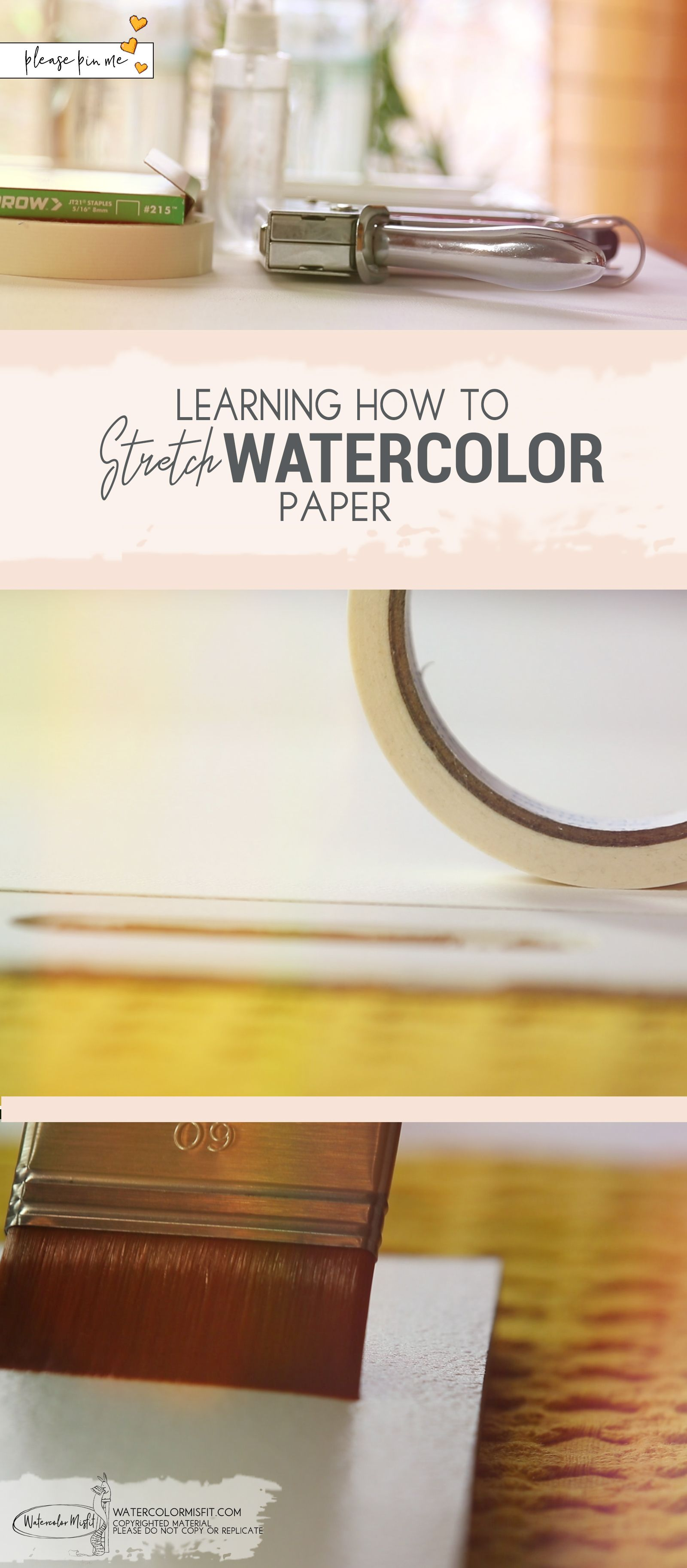 Stretching Your Watercolor Paper Why It Matters (With