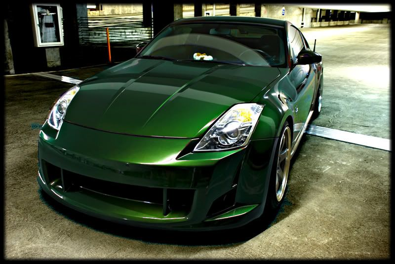 Dark Green Paint Job