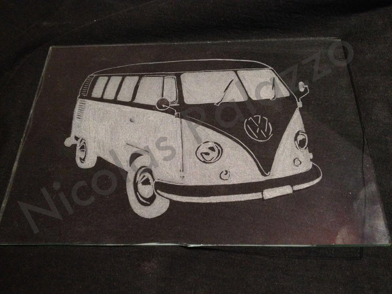 Silueta de VW Bus