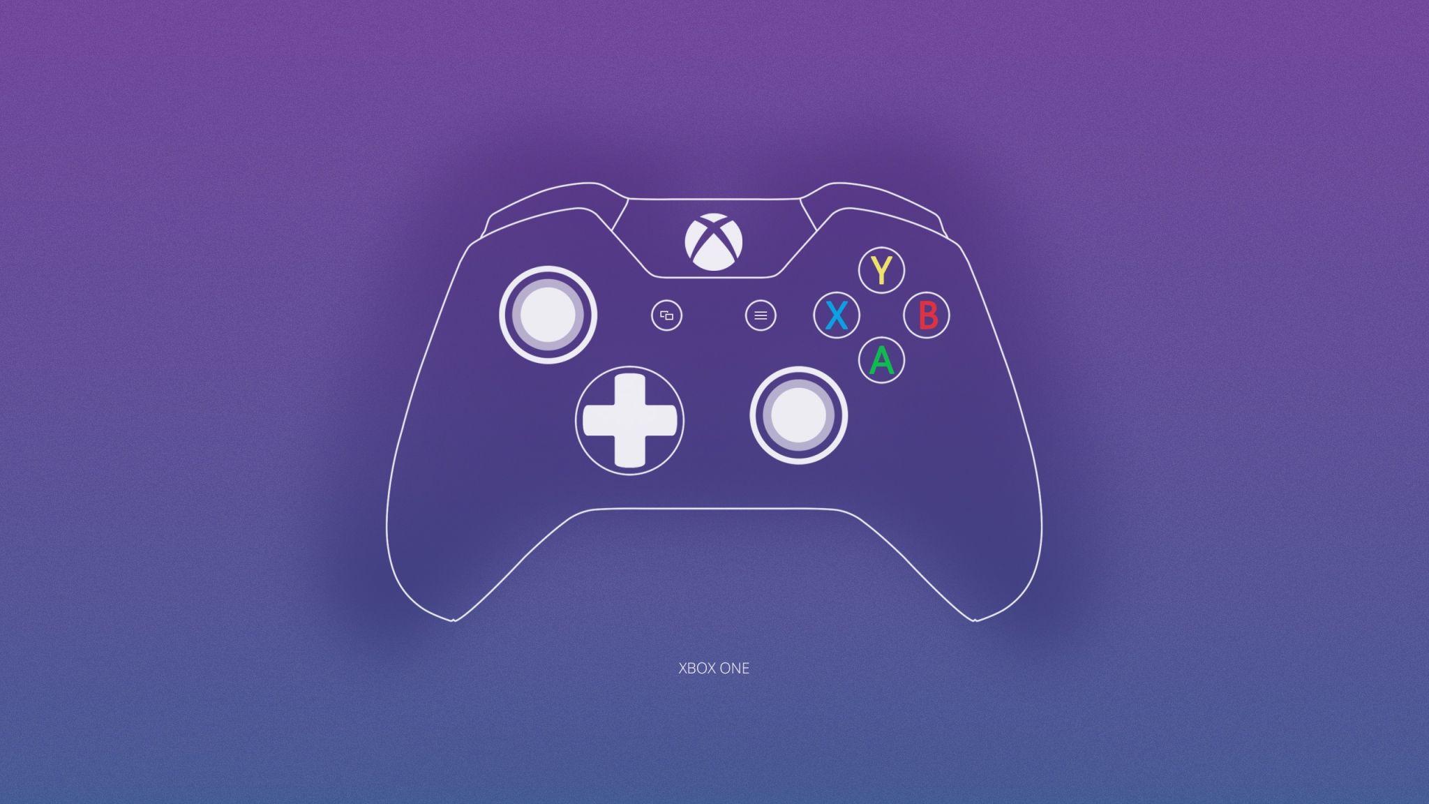 General 2048x1152 Xbox One Microsoft controllers joystick
