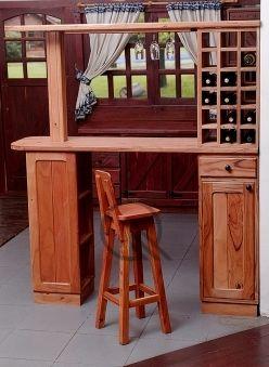 Barra mesas de madera para comedor mesas de madera for Sillas de madera modernas para cocina