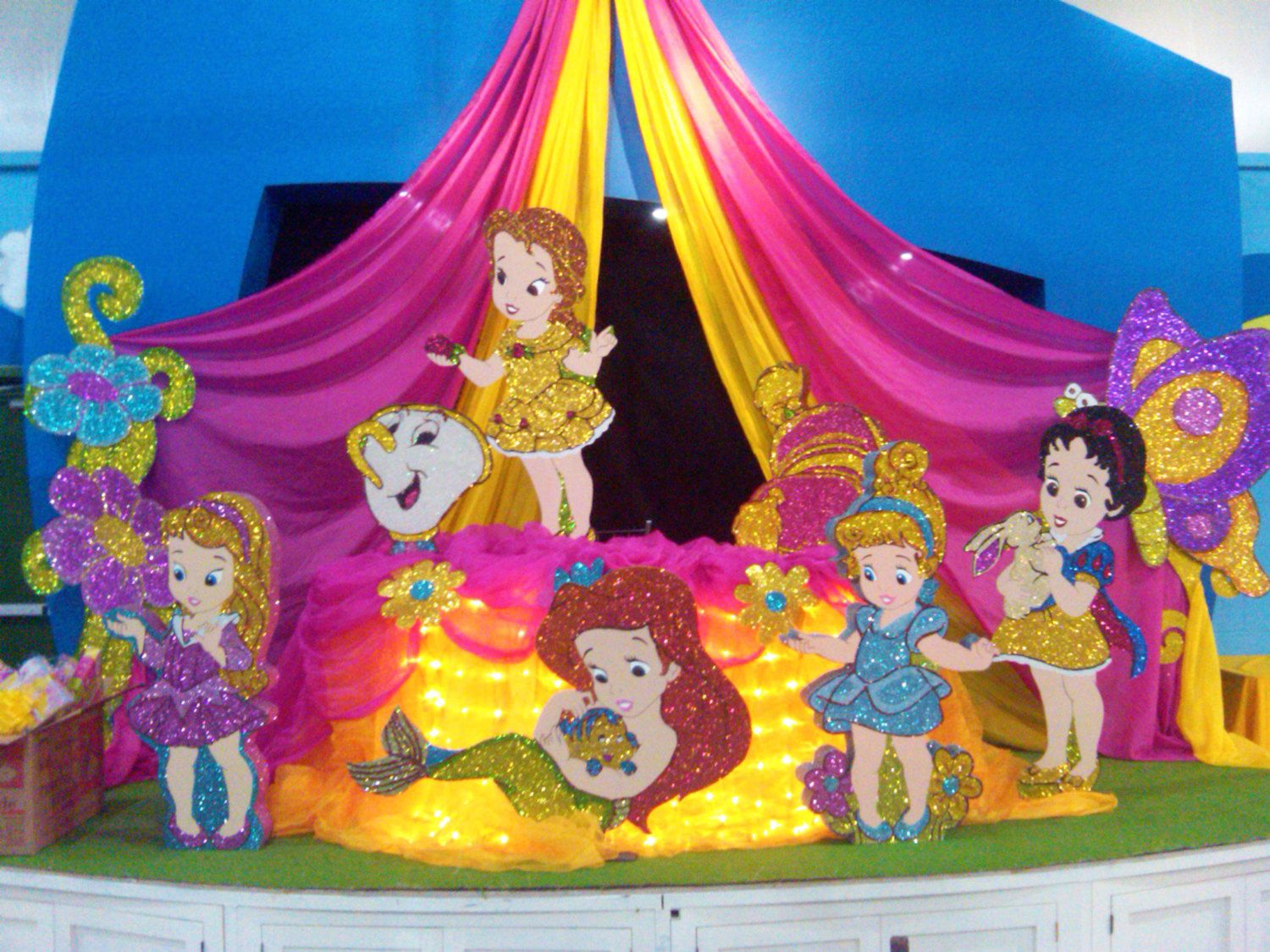 Disney Princess - Babies - Party Decoration  Standee / Cutout. $54.99, via Etsy.