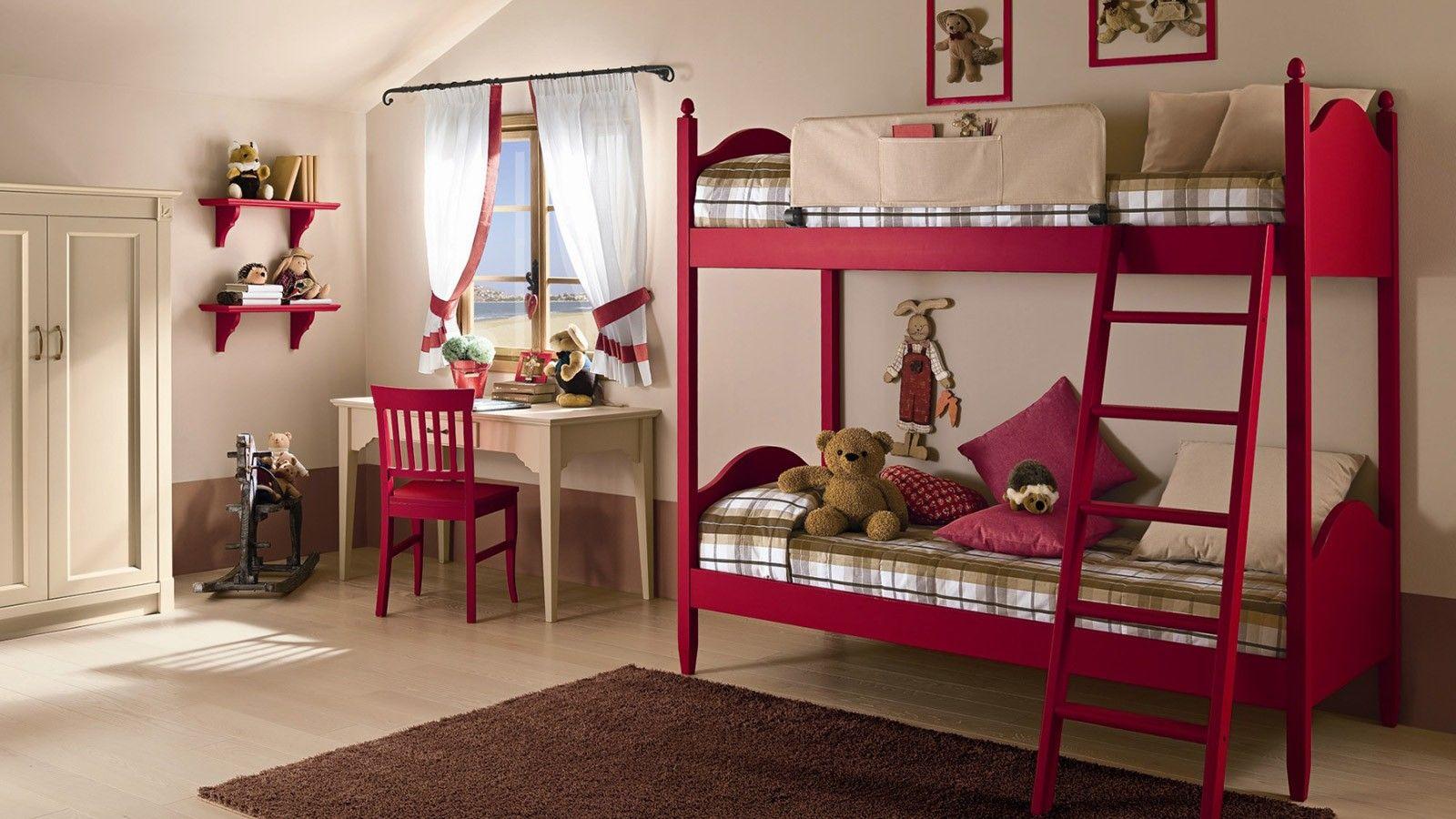 Cameretta con letto a castello callesella sweet interiors pinterest bedroom bunk beds - Cameretta con letto a castello ...