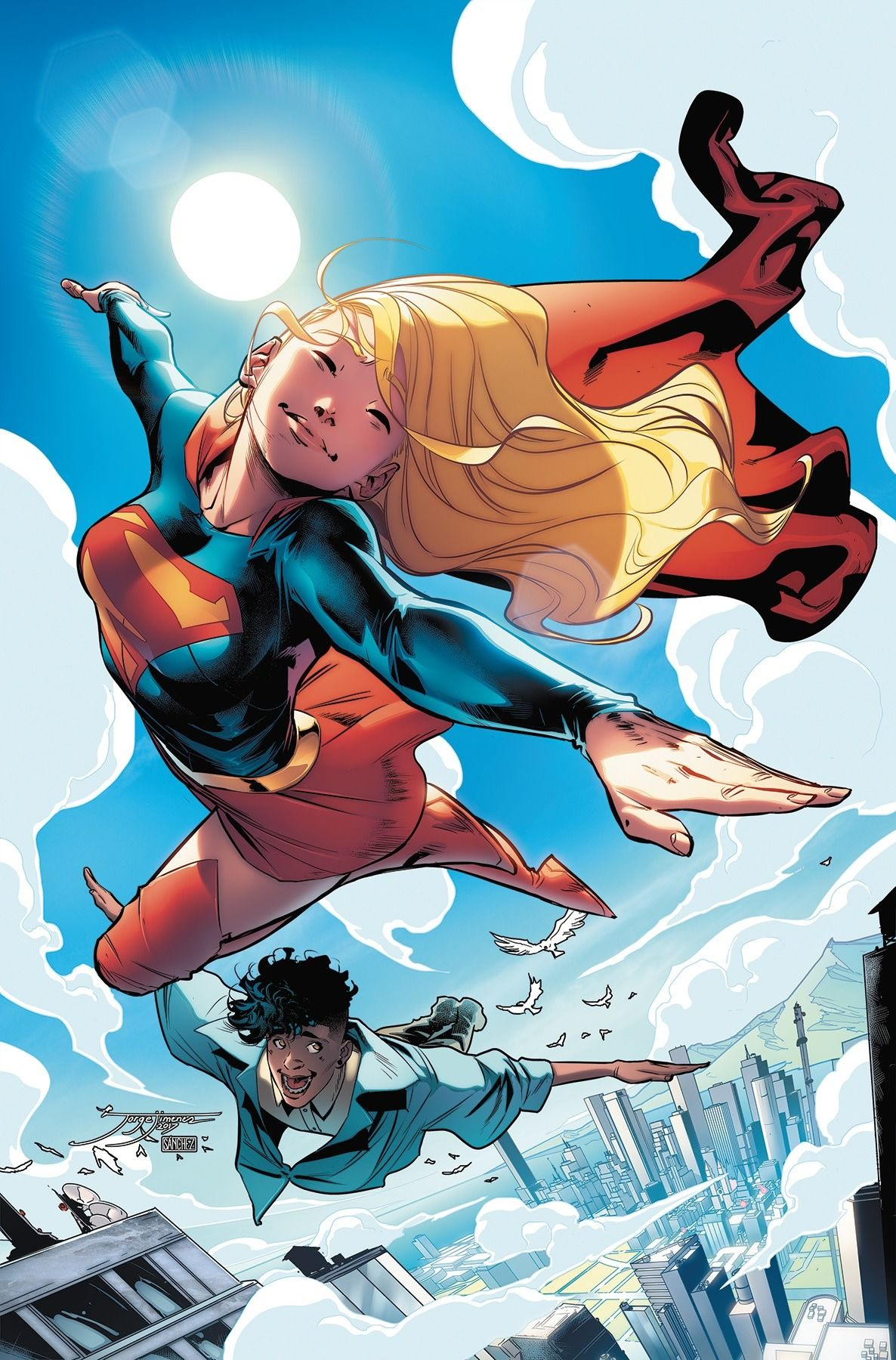 Supergirl Vol.7 #19 (Cover art by Jorge Jiménez) Marvel Dc,
