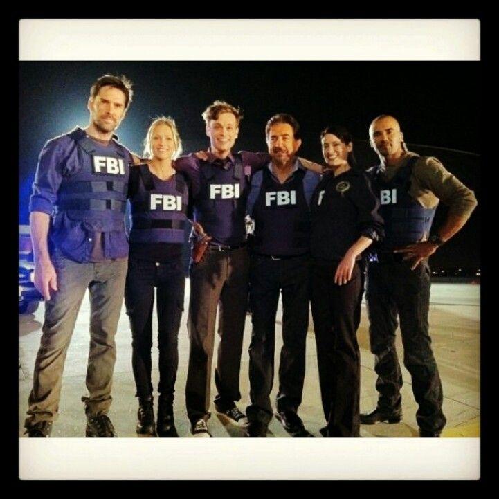 The Kickass Criminal Minds Crew Fbi Bau Criminal Minds Cast