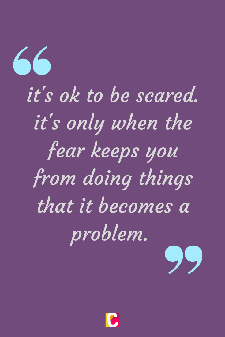 Fear And Bravery Quote Bravery Quotes Create Quotes Maker Quotes