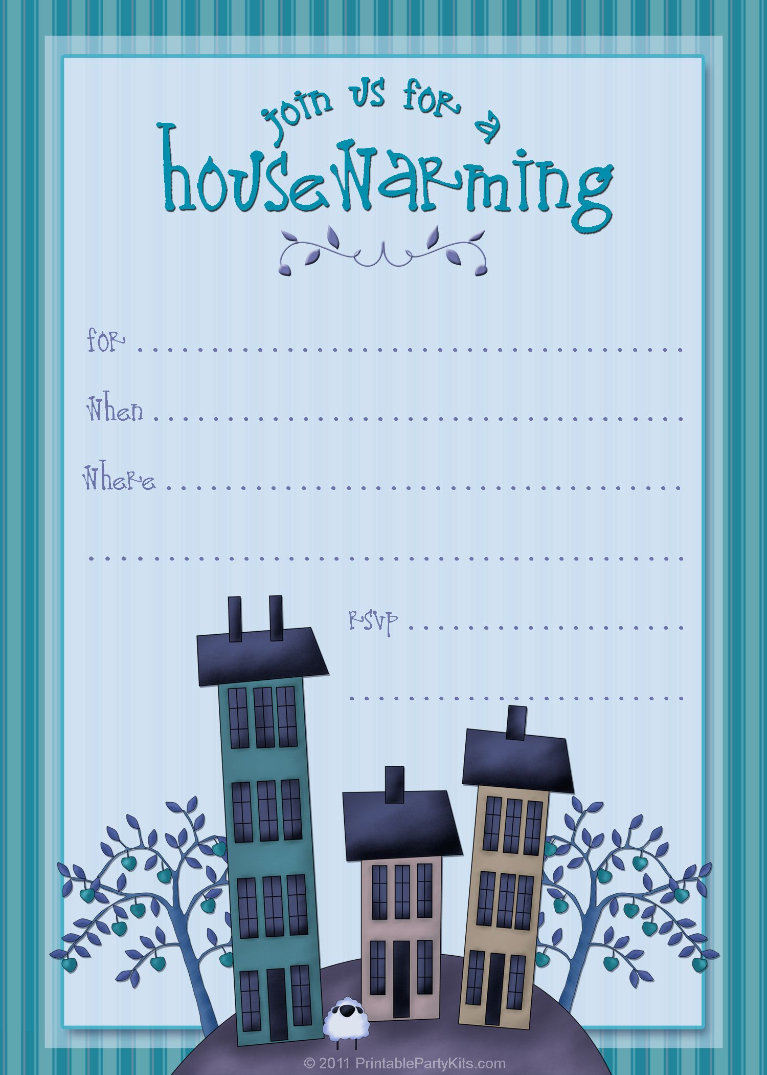 housewarming invite template tanveer Pinterest – Free Housewarming Party Invitations