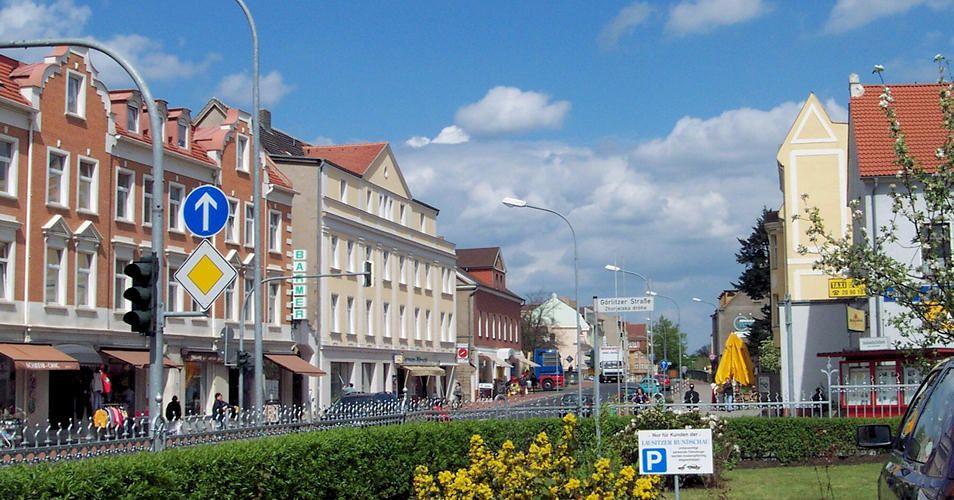 Weißwasser / Běła Woda Weisswasser, Kleinstadt, Urlaub
