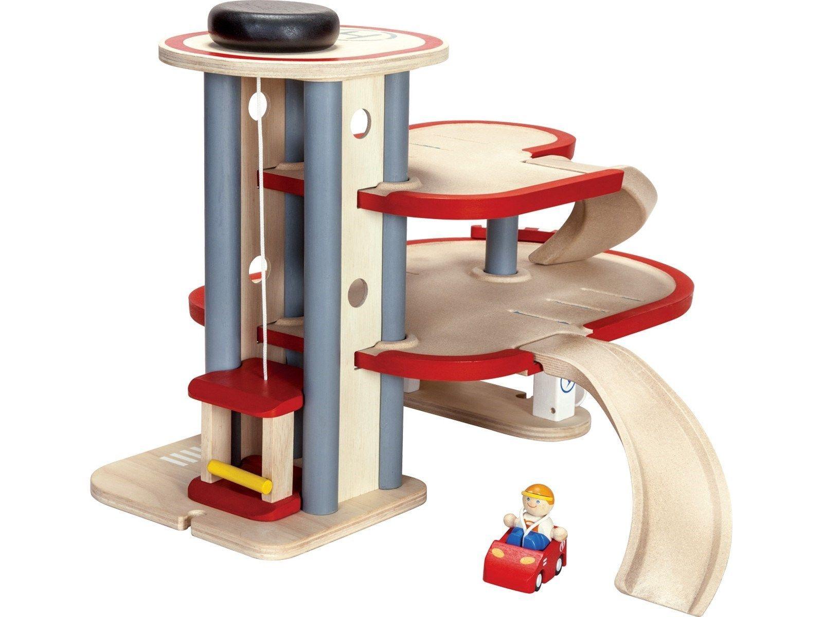 Plan Toys Garage : Holz parkhaus von plan toys höhe cm breite cm tiefe cm